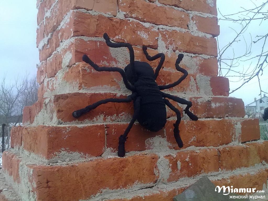Как сделать своими руками паука