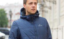 Мужская куртка с климат контролем