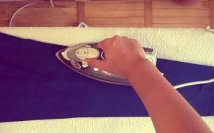 Подготовка к глажке брюк