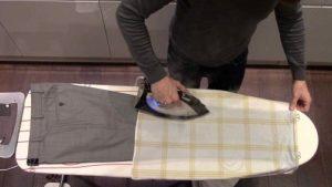 Как гладить брюки со стрелками мужчине