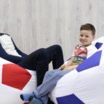 Кресла-мячи с футбольной символикой