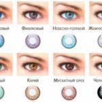 Как выбрать цветные контактные линзы?